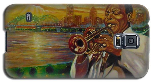 Galaxy S5 Case featuring the painting Memphis by Emery Franklin