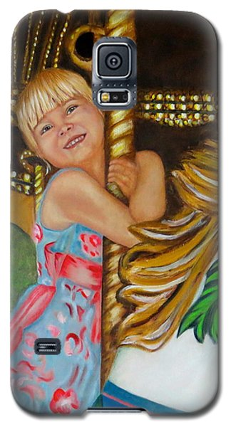 Merry-go-round Galaxy S5 Case by Sharon Schultz