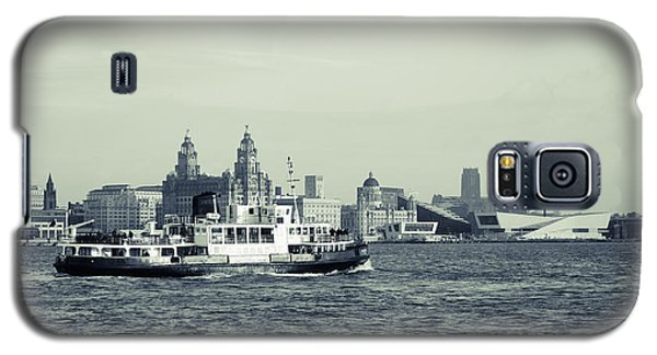 Mersey Ferry Galaxy S5 Case by Spikey Mouse Photography