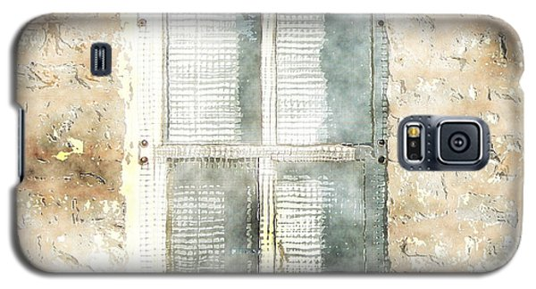 Mesh Window Galaxy S5 Case by The Art of Marsha Charlebois
