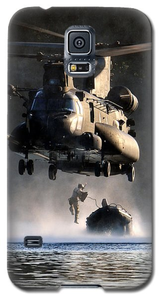 Mh-47 Chinook Helicopter Galaxy S5 Case