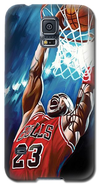 Michael Jordan Artwork Galaxy S5 Case