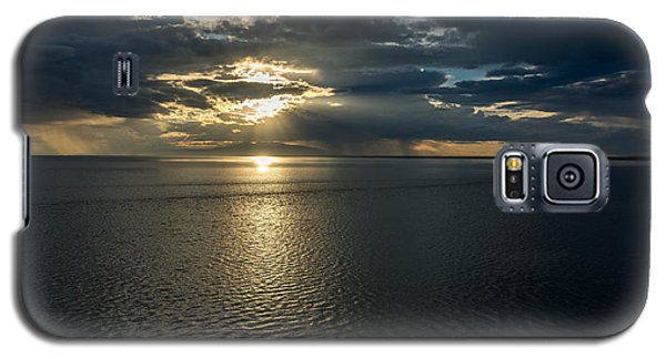 Midnight Sun Over Mount Susitna Galaxy S5 Case by Andrew Matwijec