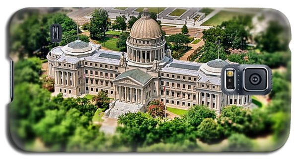 Mississippi State Capitol Aerial Galaxy S5 Case