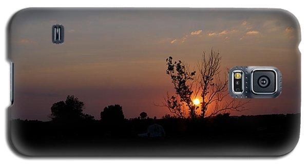 Missouri Sunset Galaxy S5 Case by Roseann Errigo