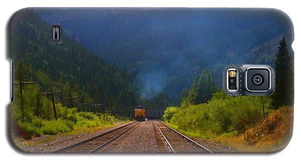 Misty Mountain Train Galaxy S5 Case