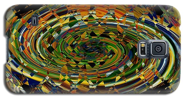 Galaxy S5 Case featuring the digital art Modern Art I by rd Erickson