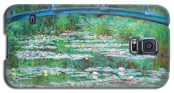 Galaxy S5 Case featuring the photograph Monet's The Japanese Footbridge by Cora Wandel