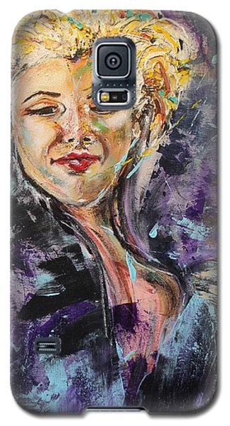 Monroe Galaxy S5 Case by Lucy Matta - LuLu