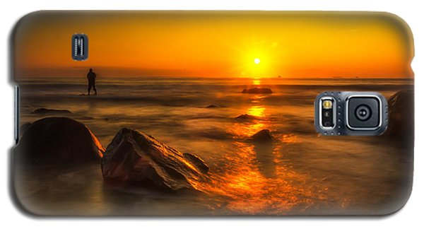 Montauk New York Summer Sunrise Galaxy S5 Case