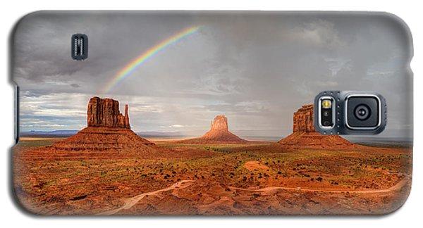 Monument Valley Rainbow Galaxy S5 Case