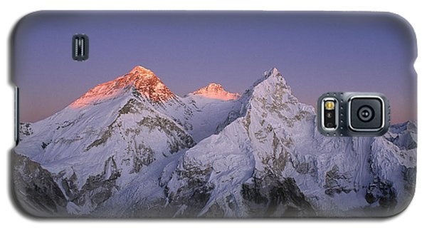 Moon Over Mount Everest Summit Galaxy S5 Case