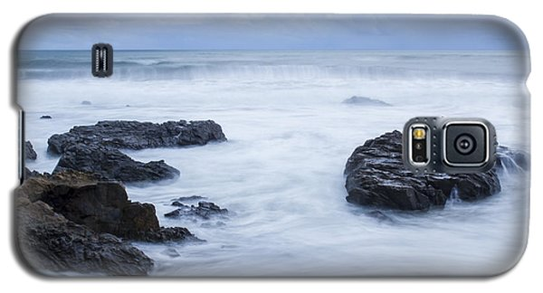 Moonstone Beach Surf 1 Galaxy S5 Case