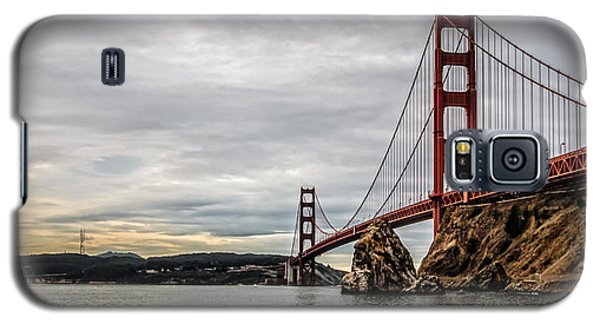 Morning Gold On The Golden Gate Galaxy S5 Case