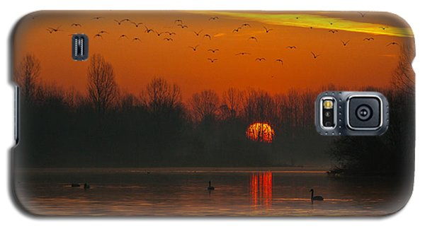 Morning Over River Galaxy S5 Case