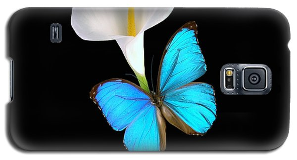 Morpho On Calla Galaxy S5 Case