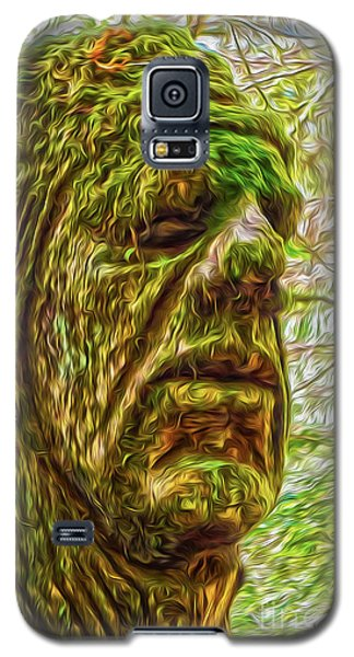 Moss Man Galaxy S5 Case by Gregory Dyer