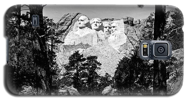 Mount Rushmore In South Dakota Galaxy S5 Case by Underwood Archives