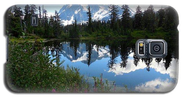 Mount Shuksan Reflection Galaxy S5 Case by Karen Molenaar Terrell