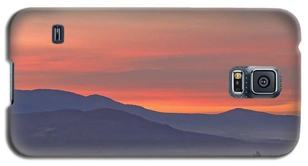 Mountain Sunrise 1 Galaxy S5 Case