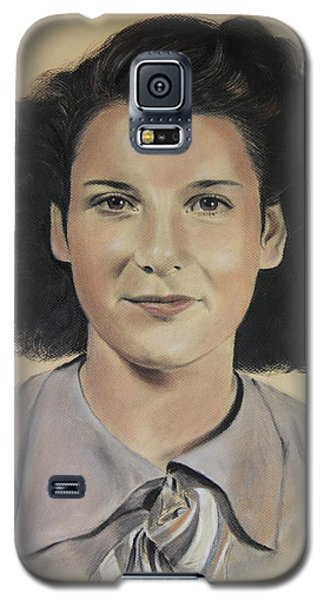 Galaxy S5 Case featuring the painting Mrs Crye by Glenn Beasley