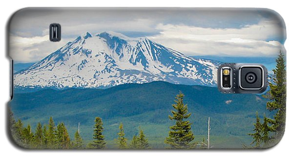 Mt. Adams From Indian Heaven Wilderness Galaxy S5 Case by Patricia Babbitt