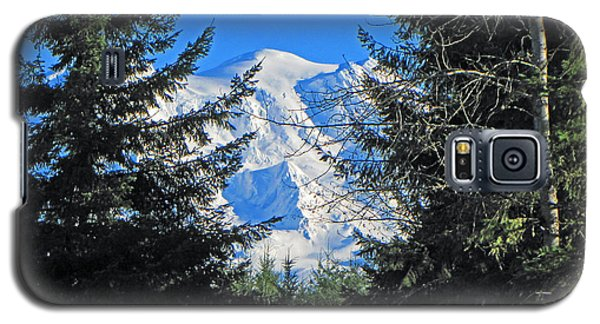 Galaxy S5 Case featuring the photograph Mt. Rainier I by Tikvah's Hope