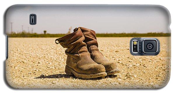Muddy Work Boots Galaxy S5 Case