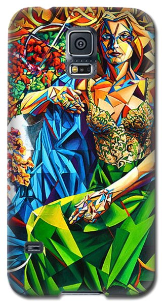 Muse  Summer Galaxy S5 Case by Greg Skrtic