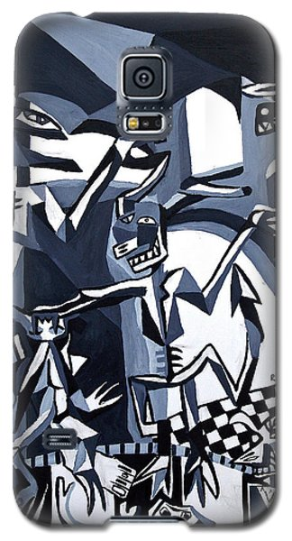 Galaxy S5 Case featuring the painting My Inner Demons by Ryan Demaree