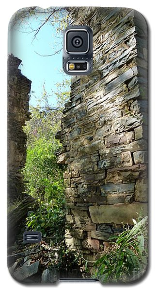Galaxy S5 Case featuring the photograph Nature's Door by Jane Ford