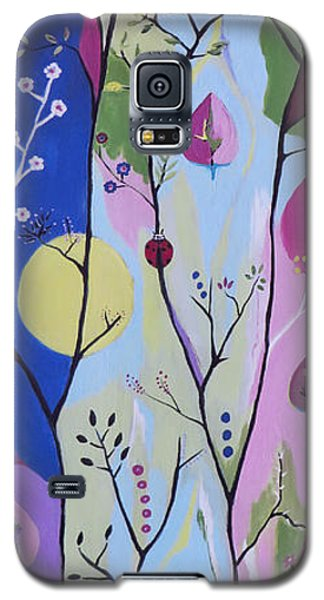 Galaxy S5 Case featuring the painting Nature's Bounty by Kathleen Sartoris