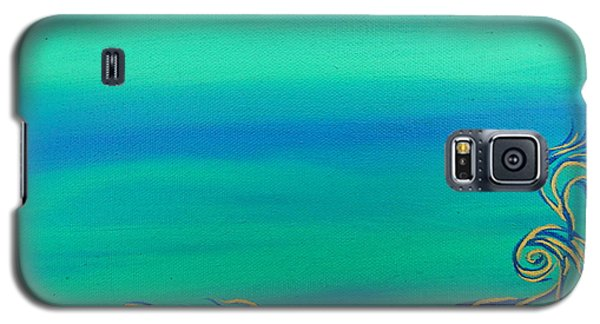 Galaxy S5 Case featuring the painting Nerissa by Robert Nickologianis