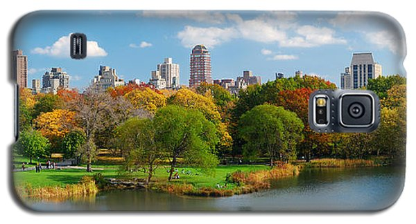 New York City Manhattan Central Park Panorama Galaxy S5 Case