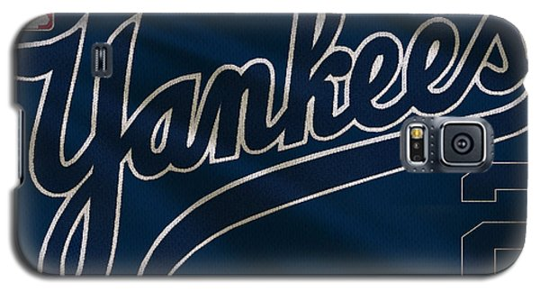 New York Yankees Derek Jeter Galaxy S5 Case by Joe Hamilton
