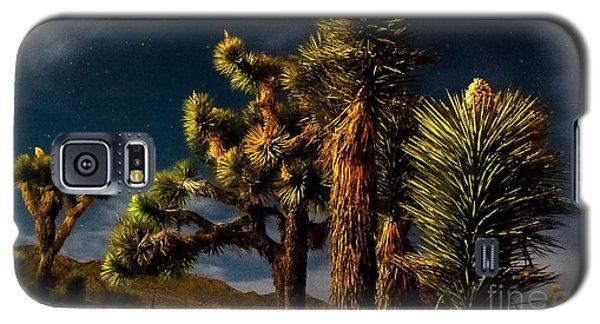 Night Desert Galaxy S5 Case by Angela J Wright