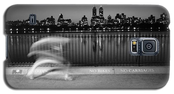 Night Jogger Central Park Galaxy S5 Case