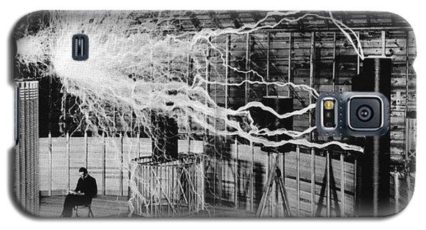 Nikola Tesla Serbian-american Inventor Galaxy S5 Case