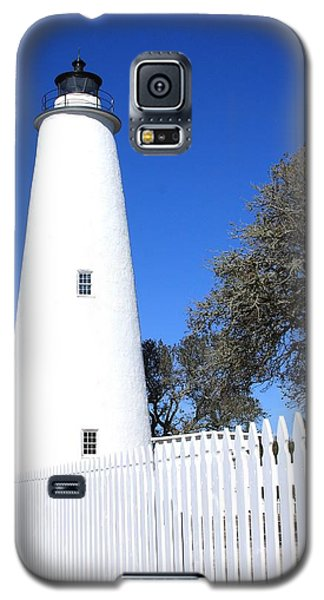 Ocracoke Lighthouse North Carolina Galaxy S5 Case by Mountains to the Sea Photo