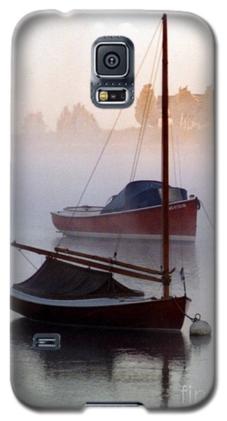 Galaxy S5 Case featuring the photograph October Mist by Michael Helfen