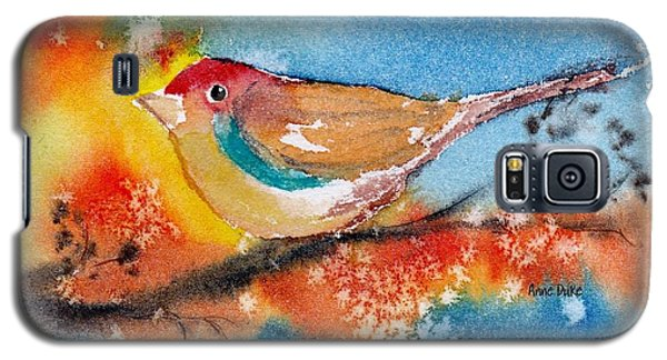 Galaxy S5 Case featuring the painting October Third by Anne Duke