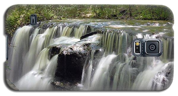 Odom Creek Waterfall Georgia Galaxy S5 Case by Charles Beeler