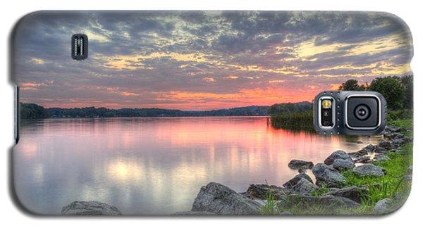 Ohio Lake Sunset Galaxy S5 Case