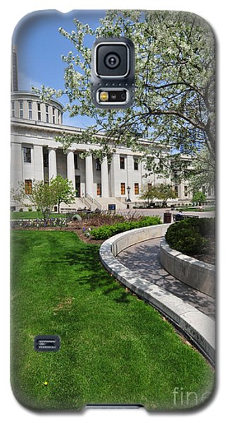 D13l-145 Ohio Statehouse Photo Galaxy S5 Case