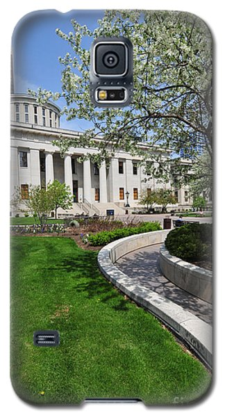 D13l-145 Ohio Statehouse Photo Galaxy S5 Case