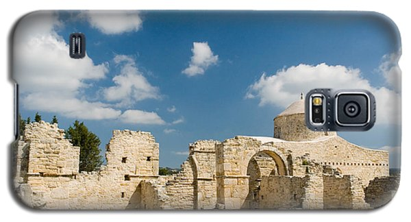 Galaxy S5 Case featuring the photograph Old Church Anogyra  by Jeremy Voisey