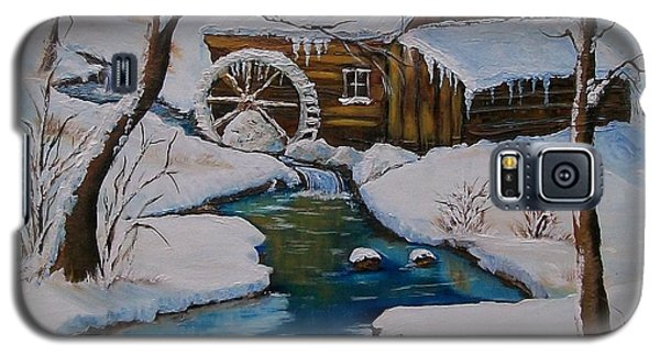 Old Grist Mill  Galaxy S5 Case by Sharon Duguay