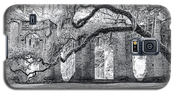 Old Sheldon Church - Side View Galaxy S5 Case by Scott Hansen
