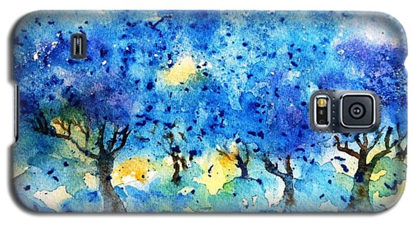 Olive Trees In A Tuscan Garden  Galaxy S5 Case by Trudi Doyle