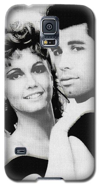 Olivia Newton John And John Travolta In Grease Collage Galaxy S5 Case